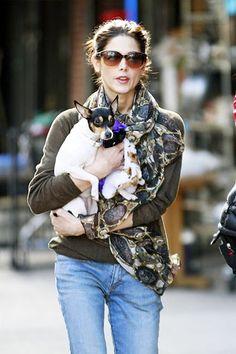 Ashley Greene and her dog Marlow