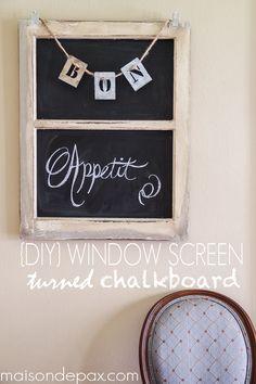 Turn an old window s