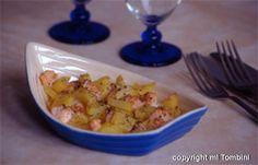 Gratins de saumon aux pommes de terre - les meilleures recettes de cuisine d'Ôdélices