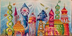 Inspirational Coloring Pages by Laurie Redus #inspiração #coloringbooks #livrosdecolorir #jardimsecreto #secretgarden #florestaencantada #enchantedforest #reinoanimal #animalkingdom #adultcoloring #johannabasford #lostocean #oceanoperdido