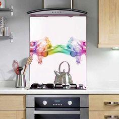 Relfective Rainbow - Printed Glass Splashbacks http://www.colour2glass.com/#!relfective-rainbow/ck9e