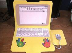 folder laptop