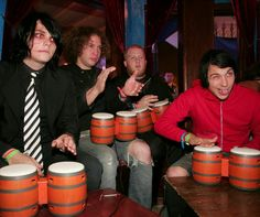 Don't even care if I've pinned this before. It's hilarious & adorable. MCR & that bongo video game.