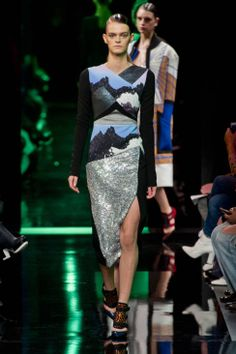 Peter Pilotto Fall 2014 Ready-to-Wear Runway - Peter Pilotto Ready-to-Wear Collection