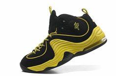 ca80f15a594b9 Cheap Hardaway Penny shoes 2012 Nike Air penny II LE Sonic Yellow Black  535600 003