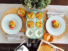 Fan of cooking: Wytrawne muffinki jajeczne z brokułami Eggs, Keto, Breakfast, Ethnic Recipes, Food, Morning Coffee, Essen, Egg, Eten