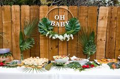 This San Diego tropical baby shower brunch was a dream. A fun, fresh way to welcome a sweet little summer babe into the world. Complete with the most delicious brunch menu (hello, donuts!), a DIY mimosa bar and the best baby shower games that everyone enjoys. If you're currently planning a bab