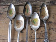 Vintage Spoon Herb Markers Bundle from OpenSky (but I know I can make these myself)