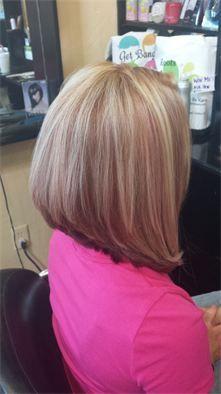 Beauty by Kara - Gallery Long bob - A Line - Haircut - Hair Style - Highlights