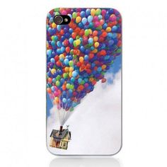 Movie Theme Collection iPhone 4 / 4S Case - UP Balloon
