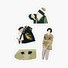 Pop Stickers, Tumblr Stickers, Printable Stickers, Agust D, Bts Drawings, Journal Stickers, Bts Chibi, Aesthetic Stickers, Transparent Stickers