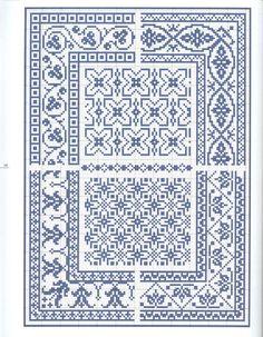 Brilliant Cross Stitch Embroidery Tips Ideas. Mesmerizing Cross Stitch Embroidery Tips Ideas. Biscornu Cross Stitch, Cross Stitch Borders, Crochet Borders, Cross Stitch Charts, Cross Stitch Designs, Cross Stitching, Blackwork Embroidery, Cross Stitch Embroidery, Embroidery Patterns