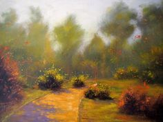 20x28'' Original Landscape Oil Painting
