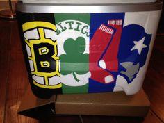 Boston Sports Fan Cooler Connection