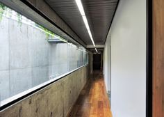 Faceted concrete centre in Brazil features light-filled galleries