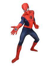 Marvel Spiderman Digital Morphsuit Lizenzware blau-rot, aus unserer Kategorie Morphsuits. Als der freundliche Spinnenmann von nebenan verkleidet, wird der Karneval ein voller Erfolg! Spider-Man ist der bekannteste Superheld New Yorks - wenn Sie in seine Fußstapfen treten, erretten Sie so manche Dame aus der Not der Einsamkeit! Werden Sie für Ihre Herzensdame die Maske lüften, um ihr zu zeigen, dass Sie nicht Peter Parker sind?