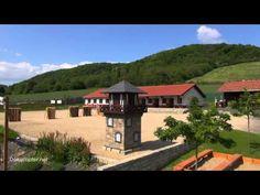 RömerWelt und Limesturm in Rheinbrohl - Aufnahmen mit der Kameradrohne - YouTube
