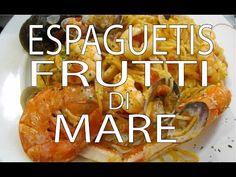 Espaguetis Frutti di Mare Fácil y Rápido - YouTube Baked Potato, Ethnic Recipes, Youtube, Internet, Food, Steak Pasta, Spaghetti, Recipes, Cooking