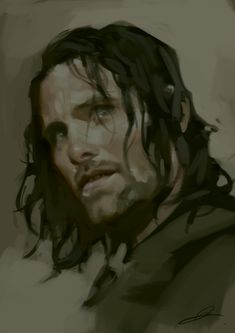 Aragorn speedy by jodeee.deviantart.com on @DeviantArt