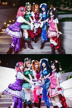 Kira Kira Sensation cosplay - 水櫻羽杏 - ラブライブ! School idol project[Love Live! School idol project]
