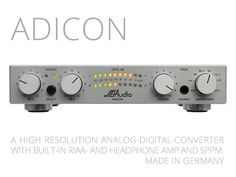 ADICON analog-to-digital converter for HiFi-enthusiasts's video poster Damn son