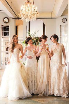 vintage glam wedding #lancomebride - Click image to find more Weddings Pinterest pins