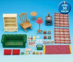 buy cosy living room online sylvanian families - Sylvanian Families Living Room Set