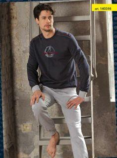 tenue d'intérieur navigare 2014 en marine gris et jeans du S au XXL