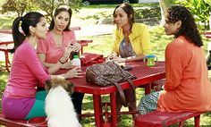 """Lifetime's new series """"Devious Maids"""" has come in for some criticism over the fact that its five lead actresses, who are all Latina, are playing domestic workers. They'd like people not to pass judgment until after they watch."""