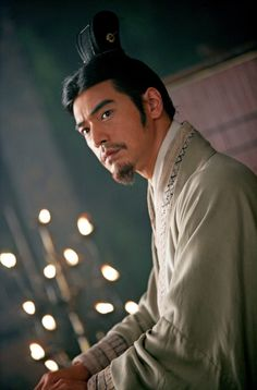 Takeshi Kaneshiro - Zhuge Liang in Red Cliff (one of the best movies EVER)