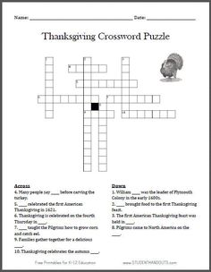 st paddy 39 s day free printable crossword puzzle for kids holidays pinterest printable. Black Bedroom Furniture Sets. Home Design Ideas