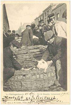 In- en verkopen van goederen op de Markt Auteur(s) Loretz, J.J.N. # Firma Wed. J. Lorentz (uitgever); 1900
