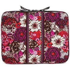 Vera Bradley Laptop Sleeve ($48) ❤ liked on Polyvore featuring accessories, tech…