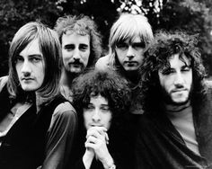 Fleetwood Mac circa 1969  Mick Fleetwood, John McVie, Jeremy Spencer, Danny Kirwan, and Peter Green