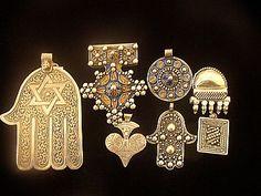 Berber amulets from El Kellah Des Sraghnas on the Marrakech Plain