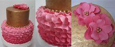 Petal Cake/Blütentorte/Torte mit Blütenblättern