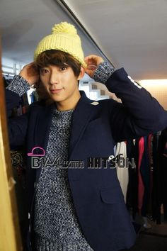 [120731] Gongchan @ B1A4 with Hats On [3]    Credits : Hats On @ Naver    Re-up : Aorishina @ FLYB1A4 / Tumblr