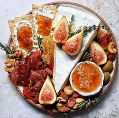 Fig Lover's Cheese Board