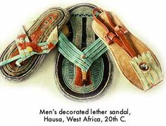 West African Mens Sandals