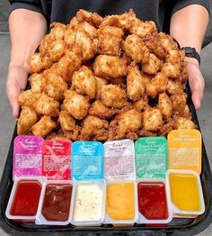 OKAY question of the hour.where are you dipping? Chicken Nugget Recipes, Chicken Nuggets, Chicken Fingers, Cute Food, Good Food, Yummy Food, Nuggets Recipe, Junk Food Snacks, Mouth Watering Food