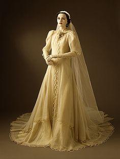 Gilbert Adrian (United States, 1903 - 1959)   Woman's Wedding Dress and Veil, 1937