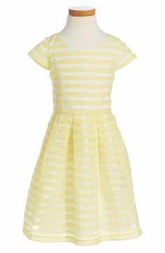 Ruby & Bloom Stripe Dress (Toddler Girls, Little Girls & Big Girls)