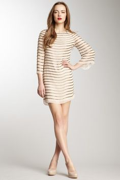 alice   olivia by Stacey Bendet Laia Bell Sleeve Dress by A Dress for All Occasions on @HauteLook