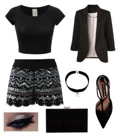 """""""Untitled #92"""" by micaelagrau on Polyvore featuring Chicwish, Steve Madden and Charlotte Olympia"""