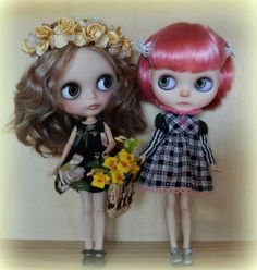 Blythe Dolls, NEW BEST FRIENDS DAKOTA AND SOPHIE | Flickr - Photo Sharing!