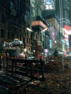 Cyberpunk City Police