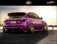 Subaru Impreza Love the colour