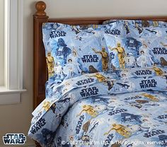 Star Wars Duvet Cover - not sure where to put this, we kinda want some of the sheets for our room!