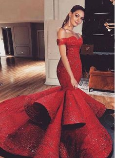 Red Dresses for Women African Prom Dresses, Strapless Prom Dresses, African Fashion Dresses, Cheap Prom Dresses, Ball Dresses, Ball Gowns, Formal Dresses, Cocktail Bridesmaid Dresses, Red Wedding Dresses