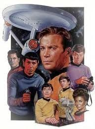 Star Trek: TOS. A cast pic is never complete without the star of the show: The Ship.
